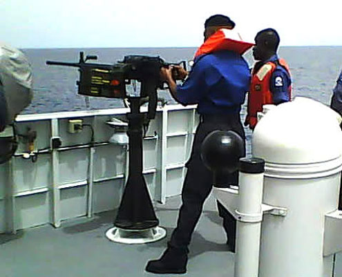 Nigerian navy kills 12 pirates